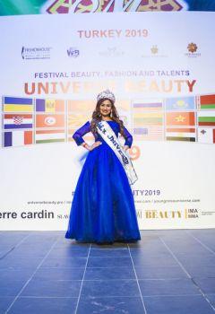 Grand - Prix Mrs. Universe 2019 Кульжанова Лейла